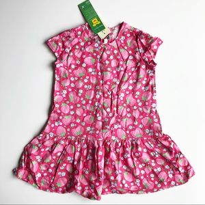 Benetton Baby strawberry dress 9-12M